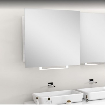 MIROIR RETRACTABLE LUK. 60 - CARRE 60x60